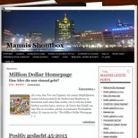 Bild: Mannis Shoutbox ein Magazin von MvZ Webseiten und Internetdienste